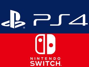 میزان فروش کنسول های ژاپنی PS4 و نینتندو سوییچ تا ۳۰ سپتامبر ۲۰۱۸
