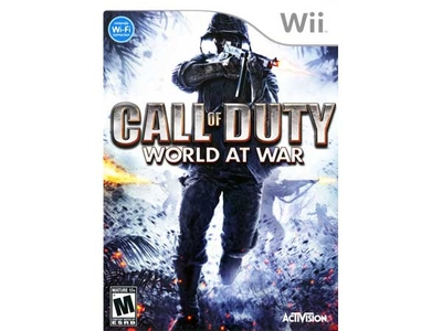 بازی Wii کال آو دیوتی ورلد ات وار