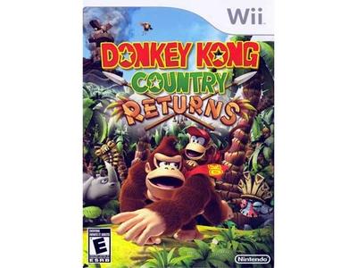 بازی Wii دانکی کونگ کانتری ریترن