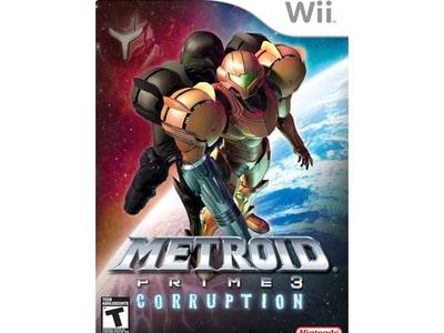 بازی Wii متروید پرایم 3 کراپشن