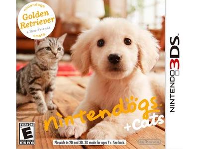 بازی نینتندو 3 دی اس نینتنداگز + گربه ها