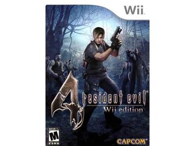 بازی Wii رزیدنت ایول 4