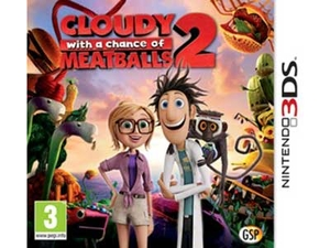 بازی Cloudy With a Chance of Meatballs 2 در 3 دی اس