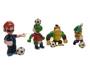 پک مجسمه کوچک ماریو فوتبالیست