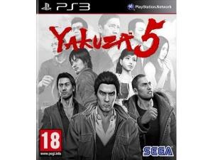 بازی یاکوزا 5 پلی استیشن 3
