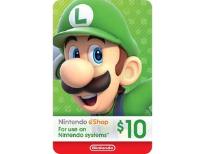 کارت 10 دلاری نینتندو ایشاپ