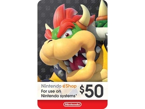 کارت 50 دلاری نینتندو ایشاپ