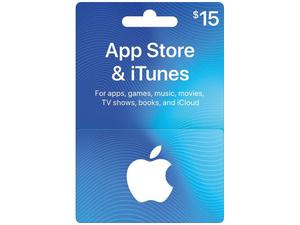 گیفت کارت آپل آیتونز 15 دلاری