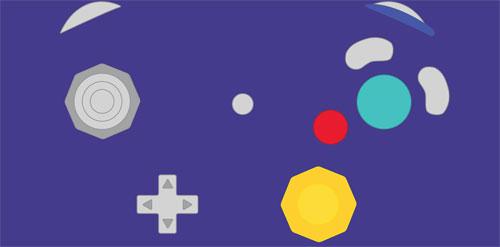 دسته نینتندو گیم کیوب Gamecube Controller