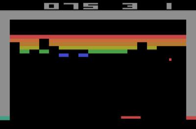 بازی Breakout آتاری 2600