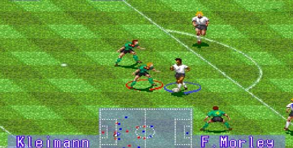 بازی فوتبال گزارشگر سگا : International Superstar Soccer Deluxe