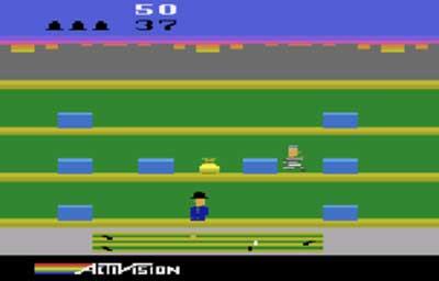 بازی دزد پلیس آتاری 2600