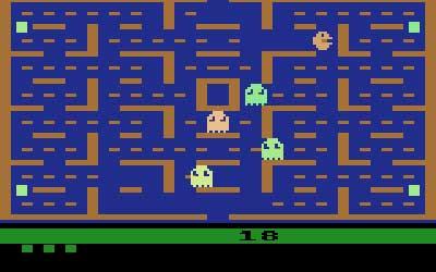 بازی پک-من آتاری 2600
