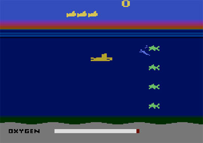 بازی زیر دریایی آتاری 2600