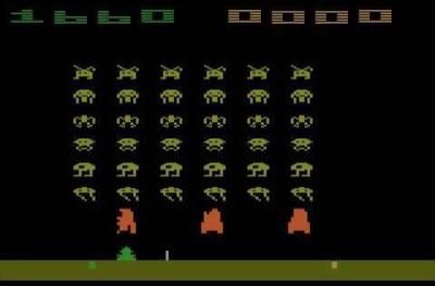 بازی آتاری مهاجمان فضا :Space Invaders