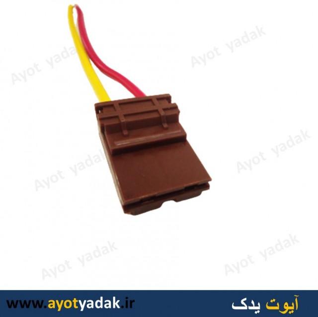 سوکت جعبه فیوز کالسکه ای قهوه ای (بسته 10 عددی)