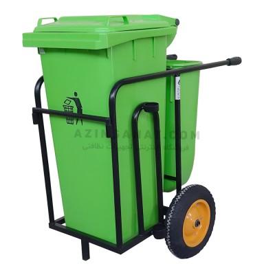 گاری حمل زباله AzinSanat 8350
