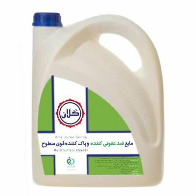 مایع ضد عفونی کننده و پاک کننده سطح GELAN حجم 4 لیتر