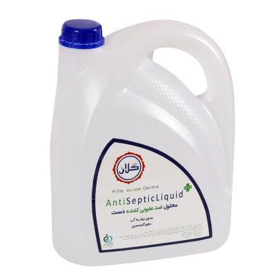 محلول ضد عفونی کننده دست الکلی GELAN حجم 4 لیتر