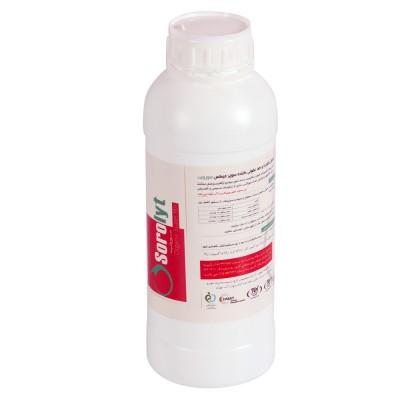 محلول ضدعفونی کننده  +SOROLYT حجم 1 لیتر