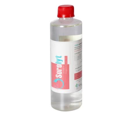 محلول ضد عفونی کننده سطوح و دست +Sorolyt - حجم 0.5 لیتر