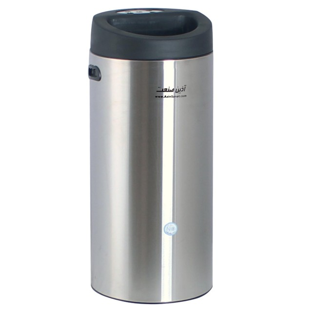 سطل سالنی استیل 30 لیتری CE3100 همراه جاسیگاری