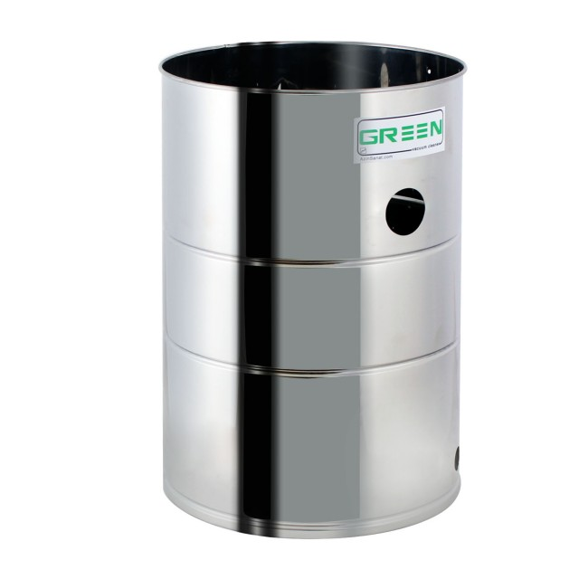 سطل استیل جاروبرقی صنعتی 702/703