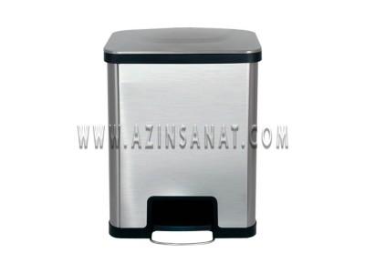 سطل استیل  پدالدار 42 لیتری 42LU