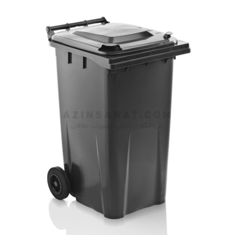 مخزن زباله 240 لیتری KLIKO