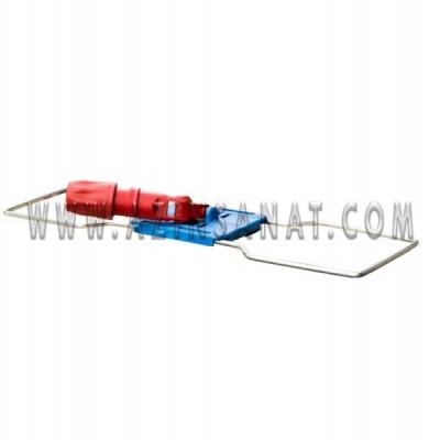 پایه نگهدارنده تی کف روب(فلزی) 40سانتیمتر