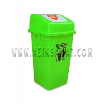 سطل زباله 120 لیتری بادبزنی