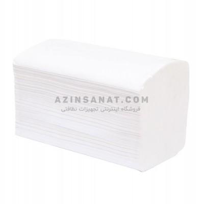 دستمال کاغذی حوله ای ضخیم 400 برگ Taklan