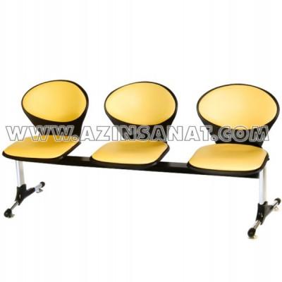 صندلی دانشجویی سه نفره مدل N 111