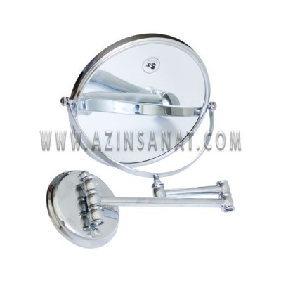 آینه اصلاح دیواری نقره ای مدل 520