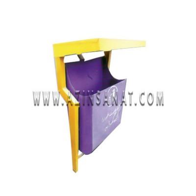 سطل زباله پاندولی فلزی SK-101