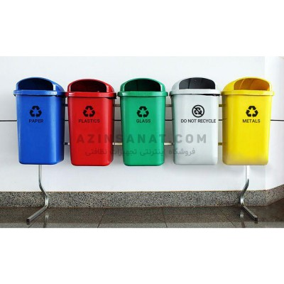 سطل تفکیک زباله 5 قلو