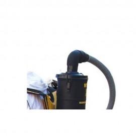 کوپل جاروبرقی کوله پشتی X9 همراه با زانویی
