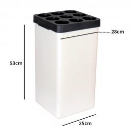 سطل جالیوانی پلاستیکی مدل 109