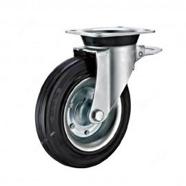 چرخ مخزن زباله 20cm داخل فلزی