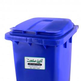سطل زباله پدالدار بیمارستانی 60 لیتری