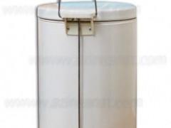 سطل فلزی سفید