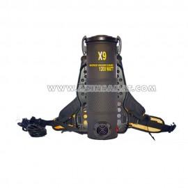 جاروبرقی کوله پشتی X9 (موتور صنعتی)