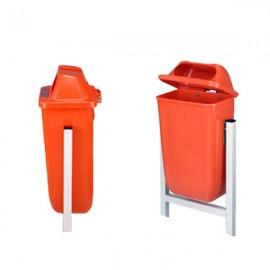 سطل زباله پارکی پاندولی 50 لیتری