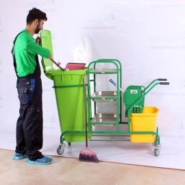ترالی نظافت مدل AzinSanat 2000