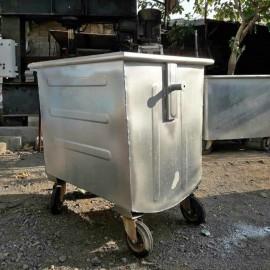 سطل زباله 1100 قوس دار ساده کد 480
