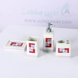 اکسسوری سرویس بهداشتی پتوس - 4 تکه