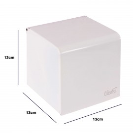 جای دستمال رول توالت استیل AK11 - سفید