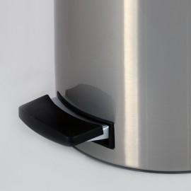 سطل پدالدار 20 لیتری Brasiana درب استیل