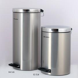سطل پدالدار استیل 16 لیتری Brasiana