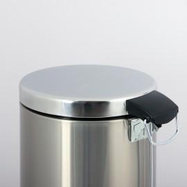 درب سطل پدالدار استیل 16 لیتری Brasiana